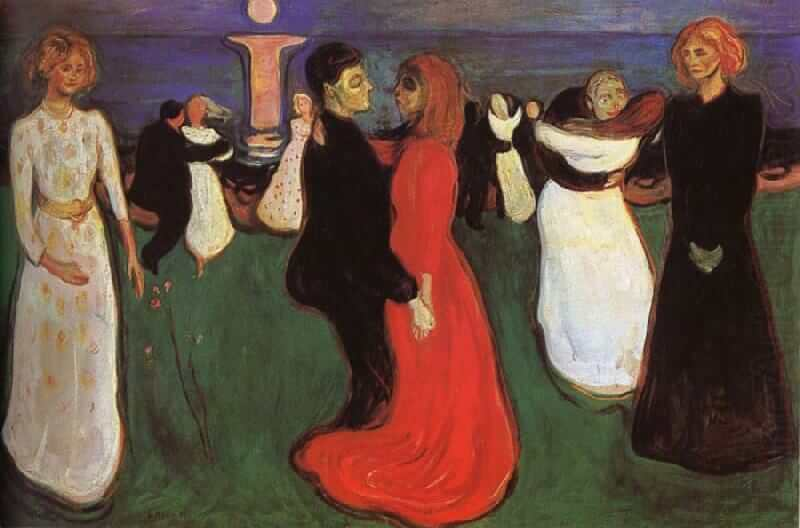 The Dance of Life, 1899 by Edvard Munch